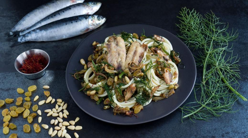 Fresh Sardine and Wild Fennel Sauce (Sicily)
