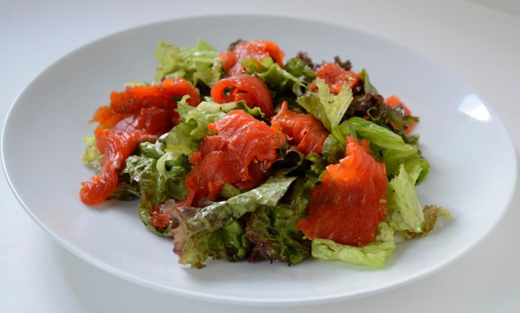 gravlaxsalad